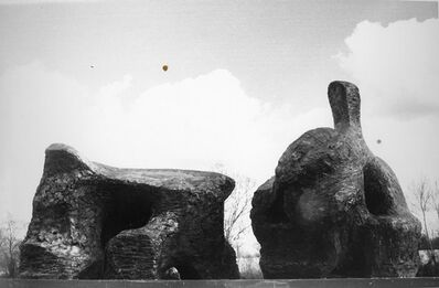Henry Moore, 'Two Piece Reclining Figure No.2', 1960