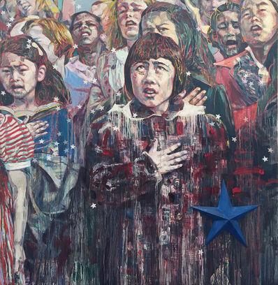 Hung Liu 刘虹, 'Pledge of Allegiance 1942', 2019