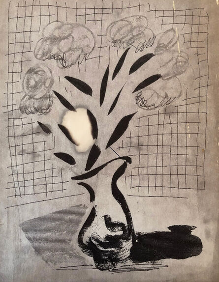 David Hockney, 'Flower and Vase', 1989