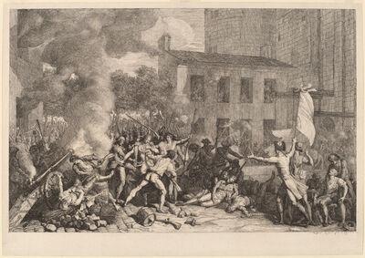 Charles ThŽvenin, 'Prise de la Bastille, le 14 Juillet 1789', ca. 1793