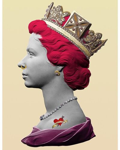 Illuminati Neon, 'Punk Queen (Pink)', 2020
