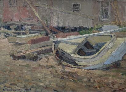 Houghton Cranford Smith, 'Beached Boat', 1925