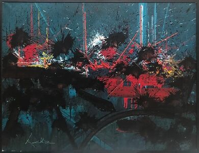 Georges Mathieu, 'Arpents de lune', 1989