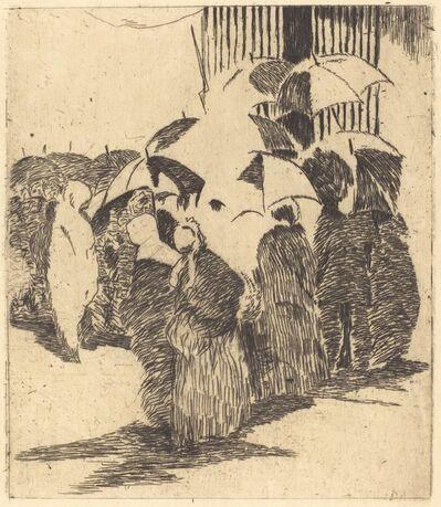 Édouard Manet, 'Line in Front of the Butcher Shop (Queue devant la boucherie)', 1870