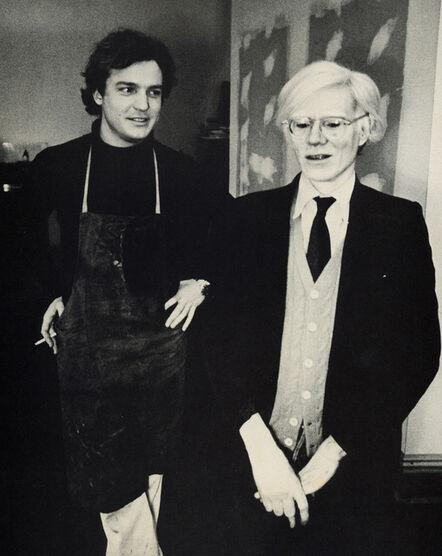Andy Warhol, 'Andy Warhol Jamie Wyeth Portraits of Each Other', 1976