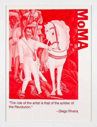 Yevgeniy Fiks, 'Communist Tour of MoMA (Diego Rivera)', 2010