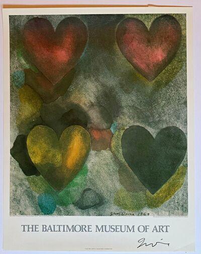Jim Dine, 'Baltimore Museum of Art (Hand Signed) ', 1983
