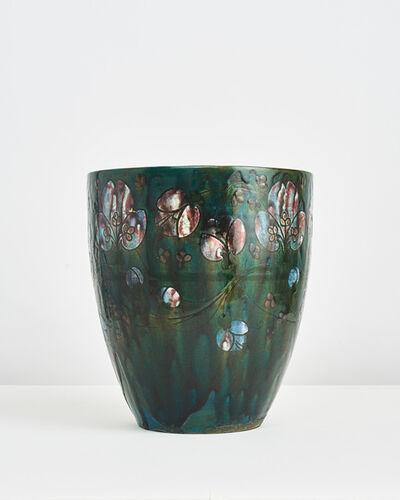 Auguste Delaherche, 'Floral Vase', ca. 1890