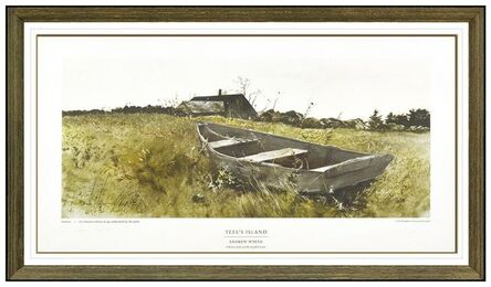 Andrew Wyeth, 'Teel's Island', 1976
