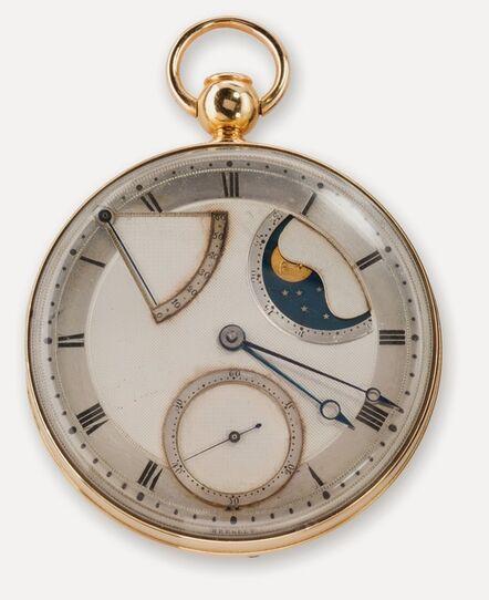 Abraham-Louis Breguet, 'Automatic (perpétuelle) quarter repeating watch with dumb (à toc) repeater', 1794