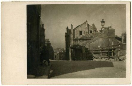 André Kertész, 'Mimi Pinson's House, Montmartre, Paris', 1926