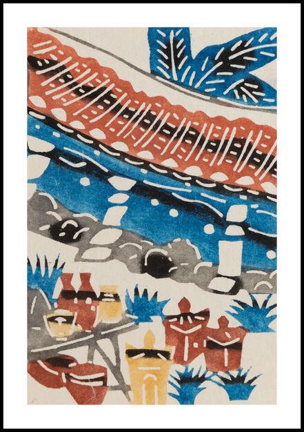 Keisuke Serizawa, 'Dyeing of the Pots', 20th Century