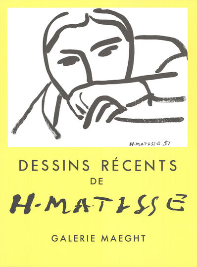 Henri Matisse, 'Dessins Recents', 1968