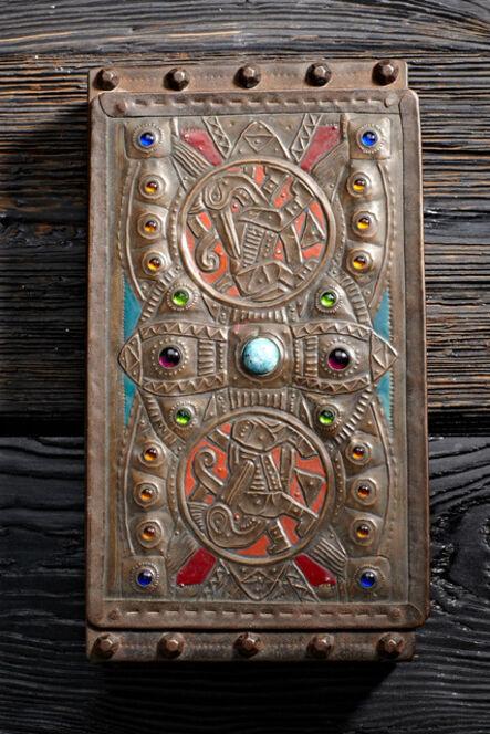 Alfred Daguet, 'Jeweled Pelican Box'