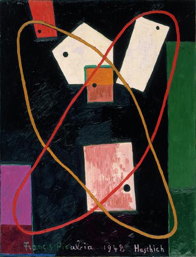 Francis Picabia, 'Haschich (Hashish)', 1948