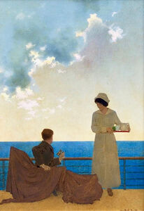 Maxfield Parrish, 'Original Illustration for The Red Cross Advertisement', 20th Century