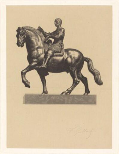 Ferdinand Gaillard after Donatello, 'Gattamelata'