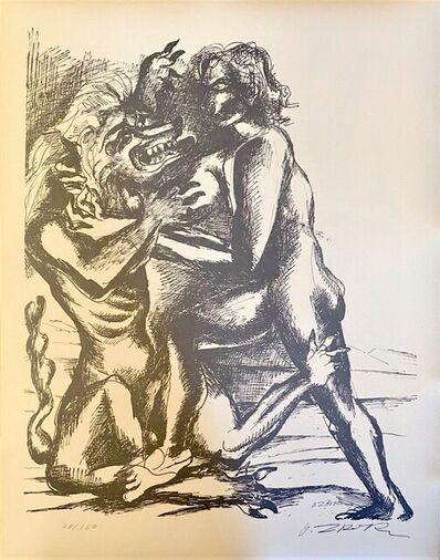Ossip Zadkine, 'The Labours of Hercule - Fight against the Nemean lion', 1960