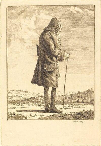 comte de Anne-Claude-Philippe de Tubières Caylus, 'Voltaire'