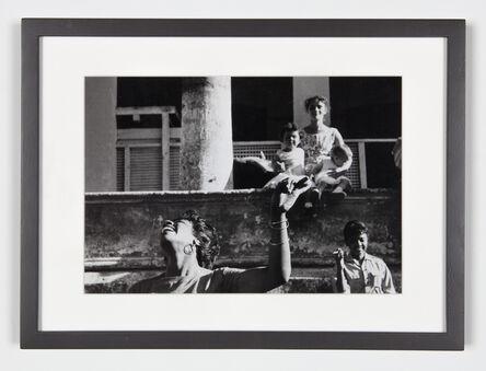 Agnès Varda, 'Cha-Cha-Cha danced by members of the I.C.A.I.C. - Film student, Sarita Gomez, woman and children (Cuba series)', 1962-1963