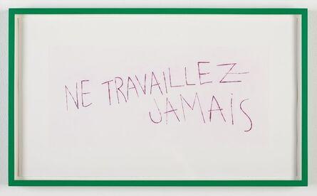 Kerim Seiler, 'Ne Travaillez Jamais (Neon Lights and Polar Bear)', 2014