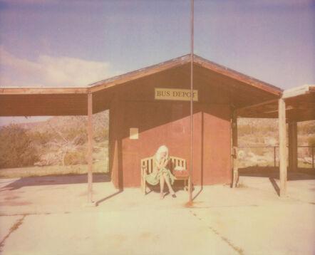 Stefanie Schneider, 'Bus depot (The Girl behind the White Picket Fence)', 2013
