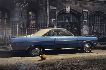 Langdon Clay, 'Basketball Car, Plymouth Duster', 1974