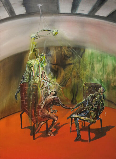 Ruben Pang, 'Red Room Client', 2015