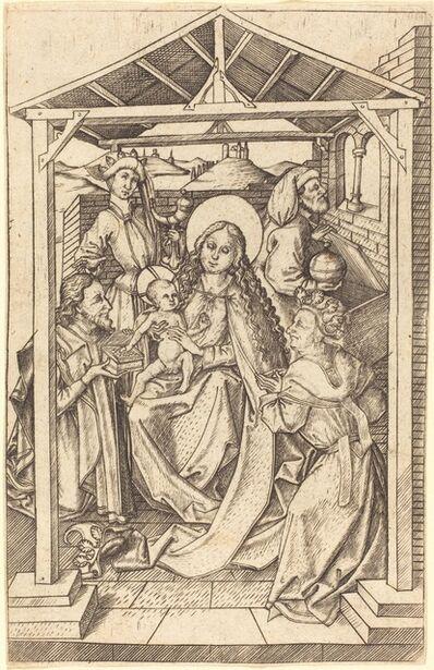 Master E.S., 'The Adoration of the Magi', ca. 1460/1465