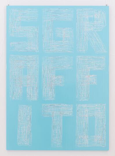 Thierry Furger, 'Sgraffito 10', 2017