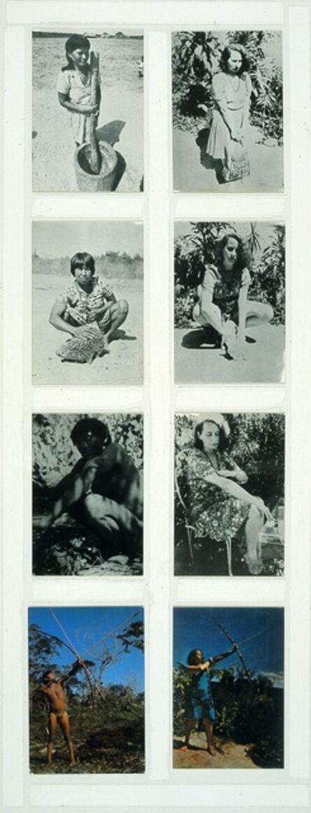 Anna Bella Geiger, 'Brasil nativo, Brazil alienígena [Native Brazil, Alien Brazil]', 1977