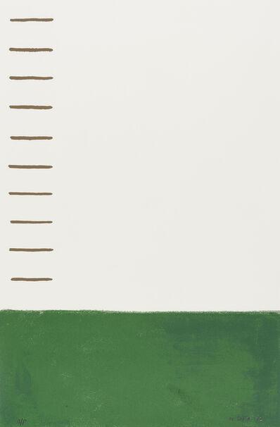 William Scott (1913-1989), 'Estate Landscape', 1972