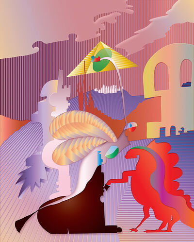 Gustavo Rojas, 'Visit from the past/ Visita del pasado', 2015