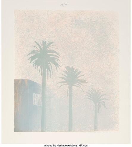 David Hockney, 'Mist (from Weather Series)', 1973