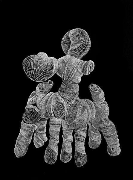 Adeel  uz Zafar, 'Seven-legged Fawn (Drawing Appendages Series) (Ed. of 25)', 2013