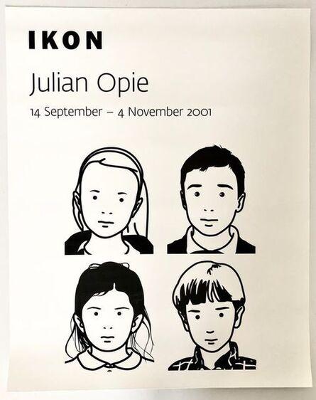 Julian Opie, 'Ikon 2001 Exhibition Poster', 2001