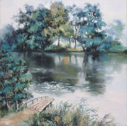 Zhang Shengzan 张胜赞, 'Little waterscape', 2013