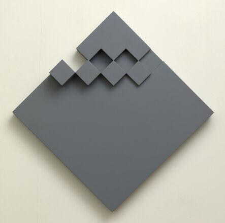 Peter Lowe, 'Grey relief', 1982