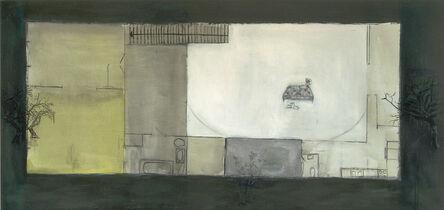 Guillermo Kuitca, 'Untiteled (Parallel floors)', 1987