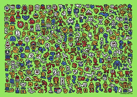 Mr Doodle, 'Alien Town', 2020