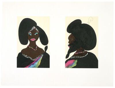 Chris Ofili, 'Afro Harlem Muses', 2005