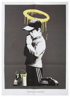 Banksy, 'Forgive Us Our Trespassing with original envelope', 2010