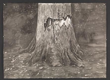 George Shaw (b. 1966), 'Torn Tree ', 2015