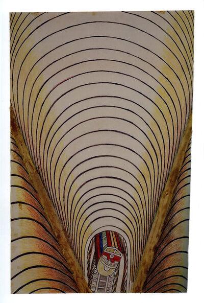 Martín Ramírez, 'Untitled (Train and Tunnel)', 1950