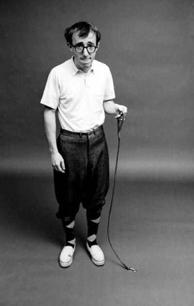 Steve Schapiro, 'Woody Allen. Ant on a Leash', 1962