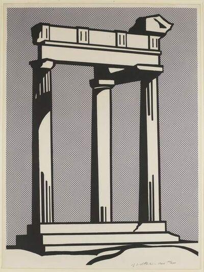 Roy Lichtenstein, 'Temple', 1965