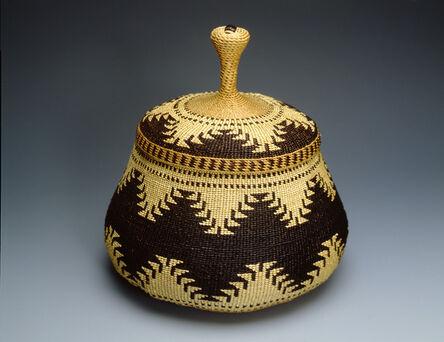 Elizabeth Conrad Hickox, 'Twined Trinket Basket', ca. 1910