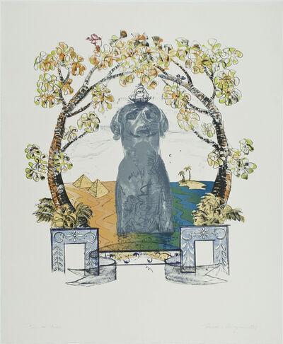 William Wegman, 'Ray Beard', 1987