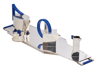 Hans Hollein, 'Five-piece Aircraft Carrier tea and coffee set, number 8 of 99, Italy', 1983