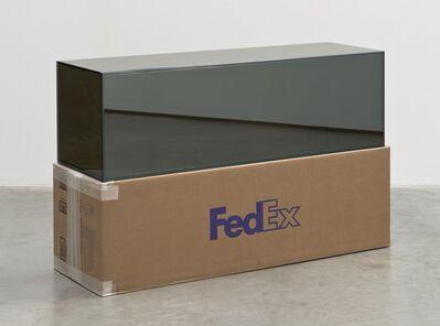 Walead Beshty, 'FedEx Golf-Bag Box 2010 FedEx 163166 REV 10/10, Standard Overnight, Los Angeles-Miami trk#797200539928, November 20-21, 2013', 2012